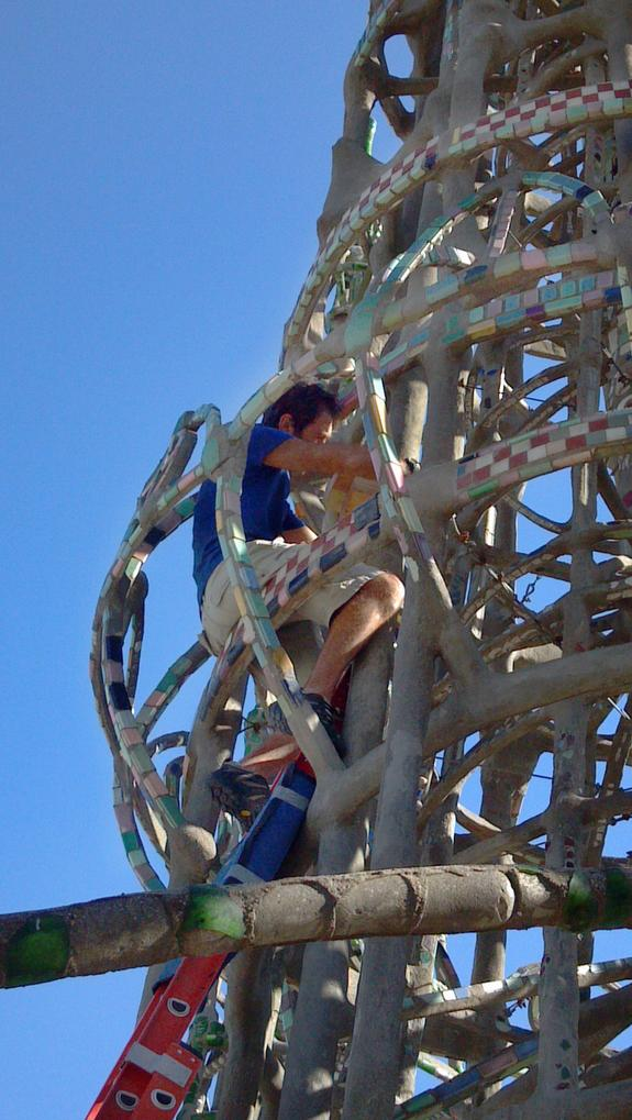 Saving Historic Watts Towers from Mystery Cracks