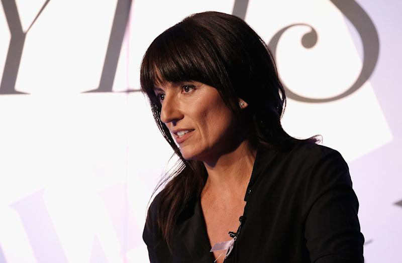 LONDON, ENGLAND - OCTOBER 15: Davina McCall speaks on stage on day one of Stylist Magazine's first ever 'Stylist Live' event at the Business Design Centre on October 15, 2015 in London, England. (Photo by David M. Benett/Dave Benett / Getty Images for Shortlist Media)