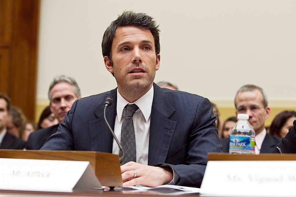 """Boston native Ben Affleck testified before the House Foreign Affairs committee hearing on The Democratic Republic of the Congo: Securing Peace in the Midst of Tragedy in Washington, D.C., Tuesday. """"If we continue to place Congo on the back burner of U.S. policy, it will come back to haunt us,"""" said Affleck. """"The last time Congo collapsed, armies came in from across Africa and five million people died…We must learn from history."""" Paul Morigi/<a href=""""http://www.wireimage.com"""" target=""""new"""">WireImage.com</a> - March 8, 2011"""