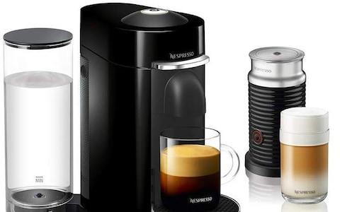 Nespresso Vertuo Plus & Milk coffee machine amazon cyber monday