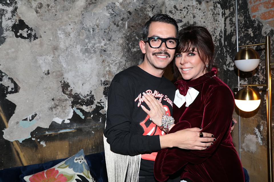 MEXICO CITY, MEXICO - AUGUST 08: Manolo Caro and Veronica Castro pose during the after party of the avant premiere of Netflix series