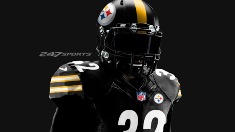 finest selection c434a 58a59 Steelers to sport all-black uniforms for 'Color Rush' vs ...