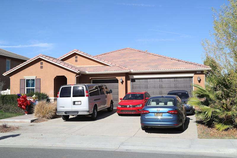The home where 13 malnourished children allegedly chained by their parents were found in Perris, California, US. Source: Getty/file