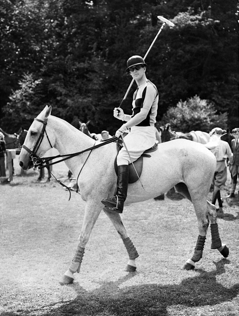 Prince Philip in 1955 (Getty Images)