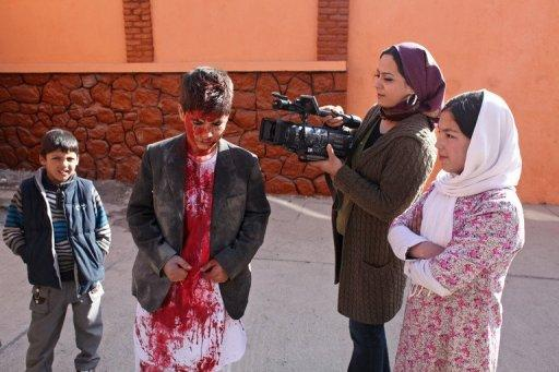 "A camerawoman from the ""Kabul I Love You"" crew films in Kabul. Forced marriage, people smuggling, illegal land grabs, land mines and ethnic conflict -- life in Kabul is not short of problems, and ""Kabul I Love You"" explores them through 10 interwoven stories"