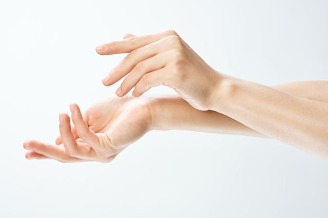 A woman's hand trick has gone viral. [Photo: Getty]