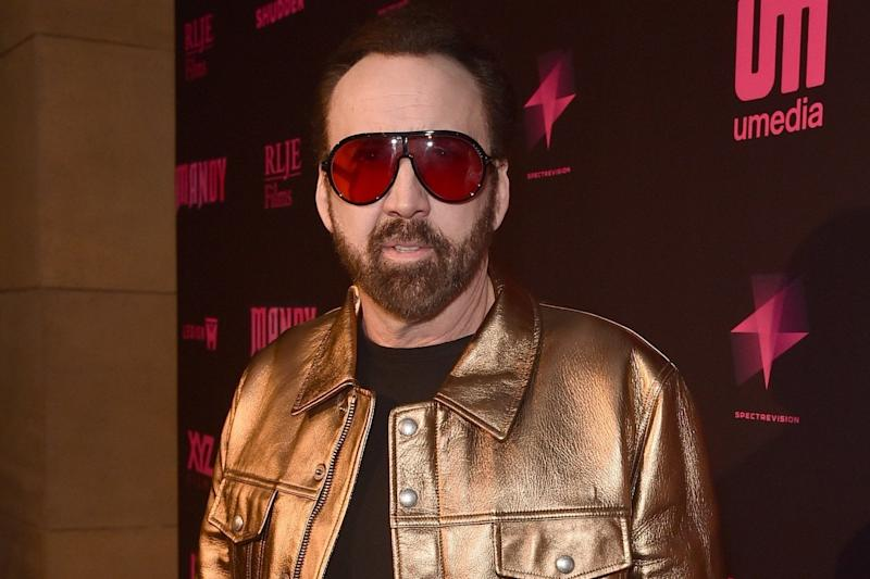 Nicolas Cage attends the Los Angeles Special Screening And Q&A Of Mandy At Beyond Fest at the Egyptian Theatre on 11 September, 2018 in Hollywood, California: Alberto E Rodriguez/Getty