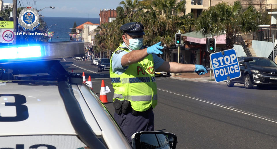 Police officers around Australia do not take kindly to speeding drivers. Source: AAP/ NSW Police