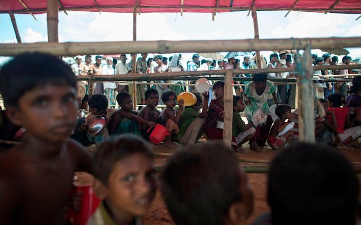 Human Rights Watch accused Bangladesh's government of blocking children's access to formal education in private or public schools outside the sprawling camps - AFP