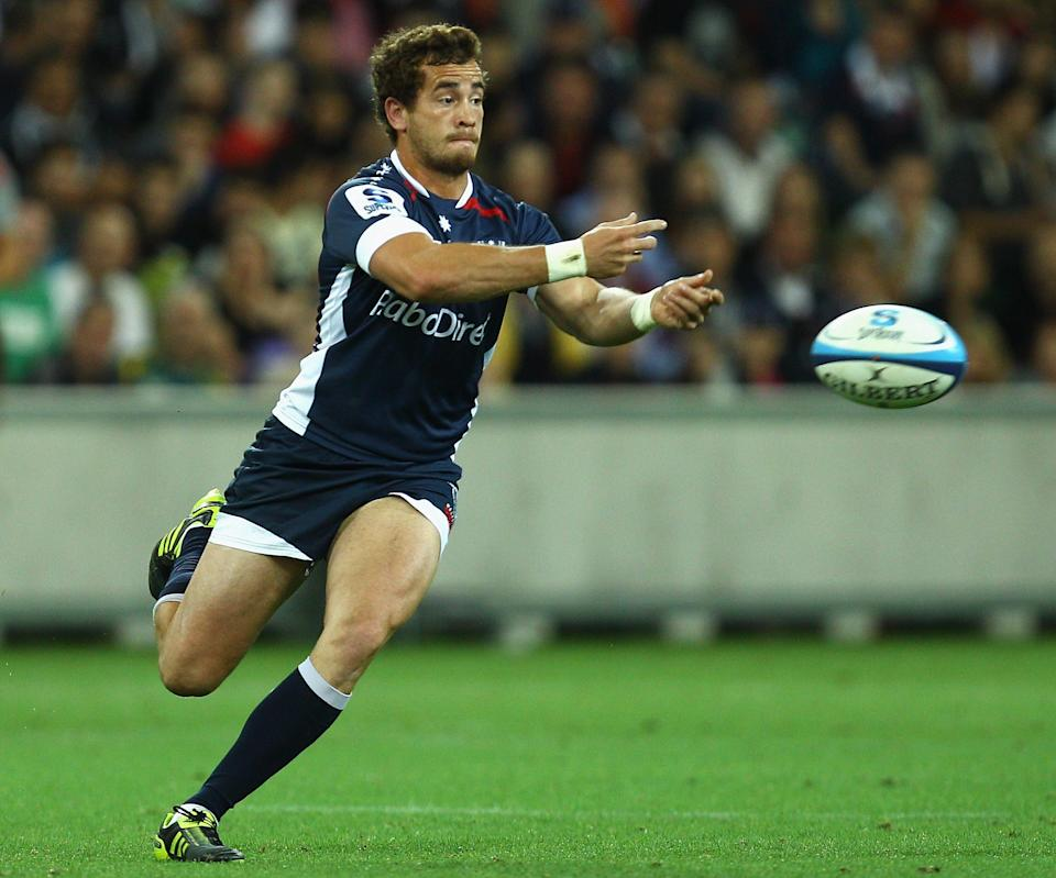 Danny Cipriani had a torrid time in Melbourne