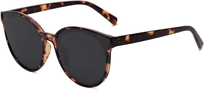 <p>You can't go wrong with these <span>SOJOS Fashion Vintage Round Sunglasses</span> ($14). They have a sublte cat-eye tapering that looks stylish and trendy.</p>