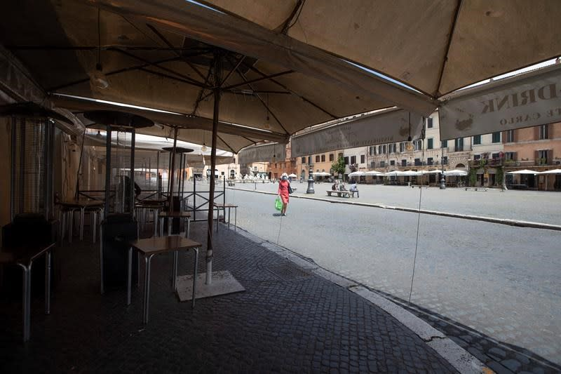 Masks dangerous for some and uncertain future for Italy's eateries; In The News for May 21