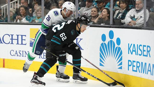 Here is how the Sharks are expected to line up on Monday night as they close out their road trip in Vancouver against the Canucks.