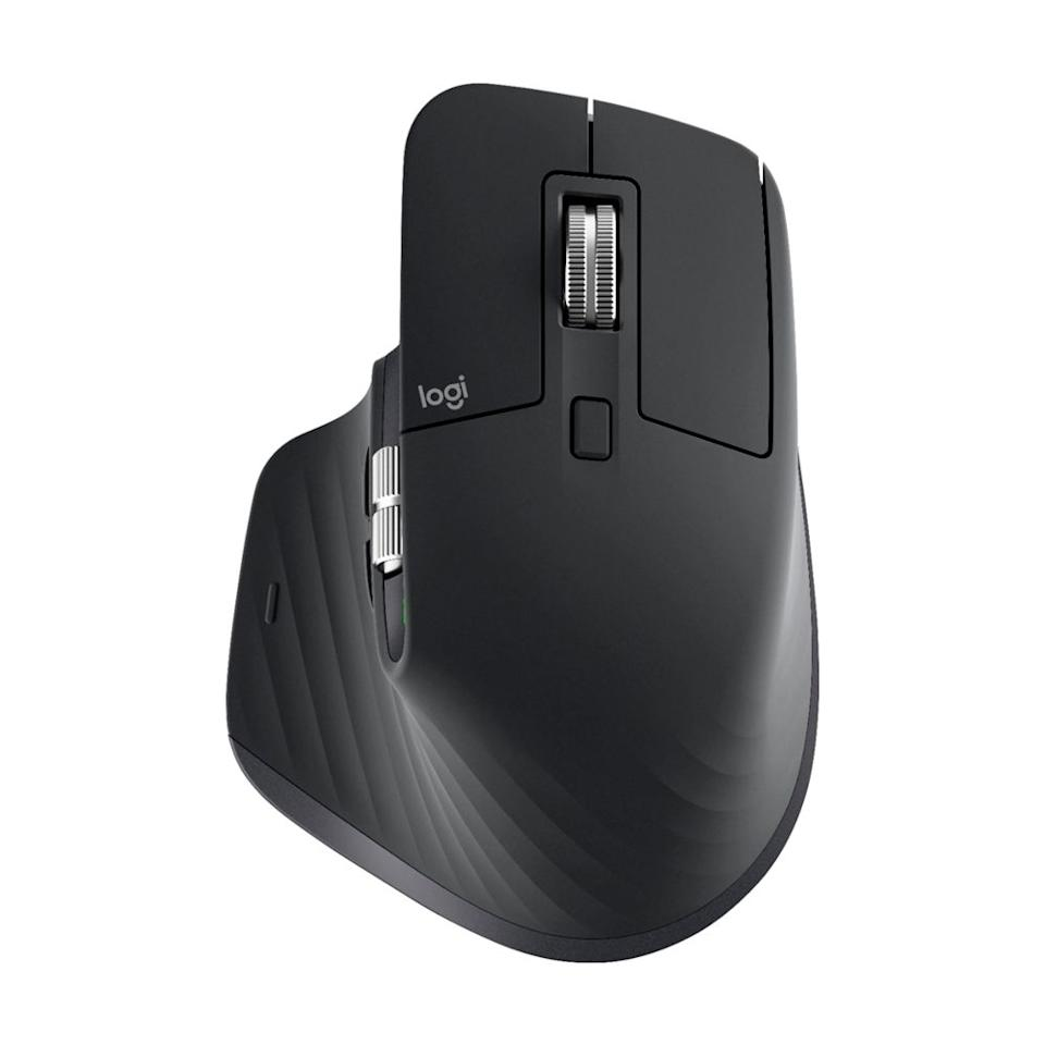 """<p><strong>Logitech</strong></p><p>amazon.com</p><p><strong>$99.99</strong></p><p><a href=""""https://www.amazon.com/dp/B07S395RWD?tag=syn-yahoo-20&ascsubtag=%5Bartid%7C2089.g.843%5Bsrc%7Cyahoo-us"""" target=""""_blank"""">Shop Now</a></p><p>This is the best wireless mouse money can buy. It's customizable and comfortable, and it works on any surface. Its rechargeable battery lasts for over a month on a single charge, and the mouse can pair with up to three devices. </p><p>The MX Master 3 has one of the smoothest and quickest scroll wheels we've come across, too. Our only complaint is its price.<br></p><p><strong>More:</strong> <a href=""""https://www.bestproducts.com/tech/electronics/g618/all-in-one-desktop-computers/"""" target=""""_blank"""">The Best All-in-One Computers for Your Home or Office</a></p>"""