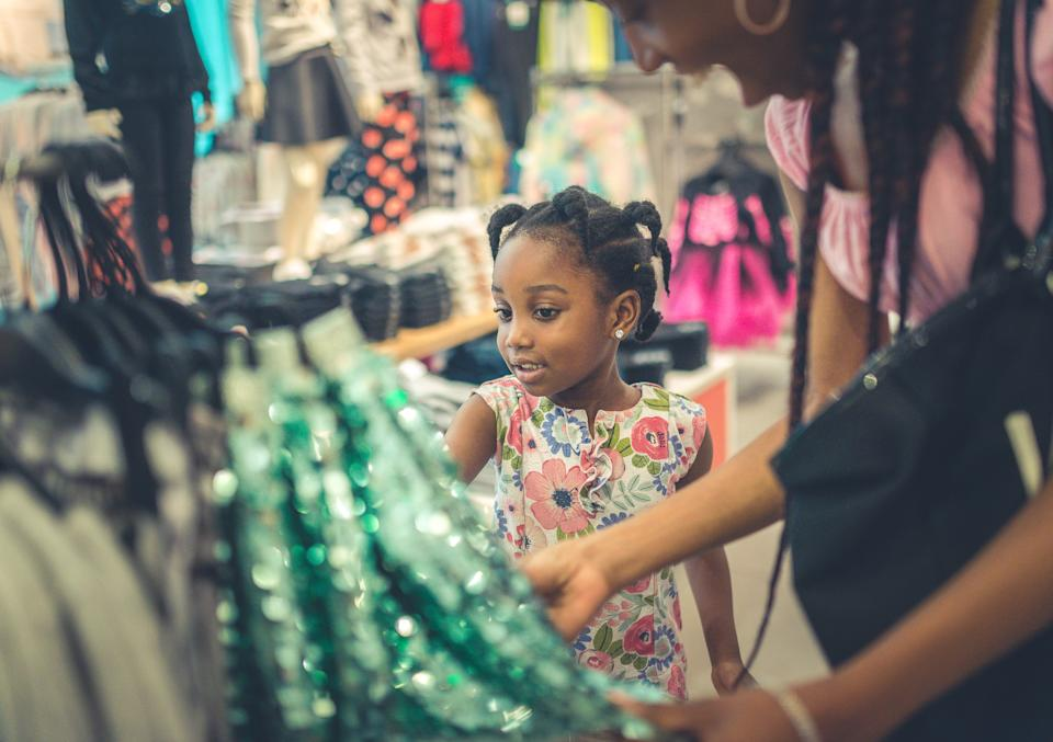 Is there a gender sizing gap for children's clothes? [Photo: Getty]