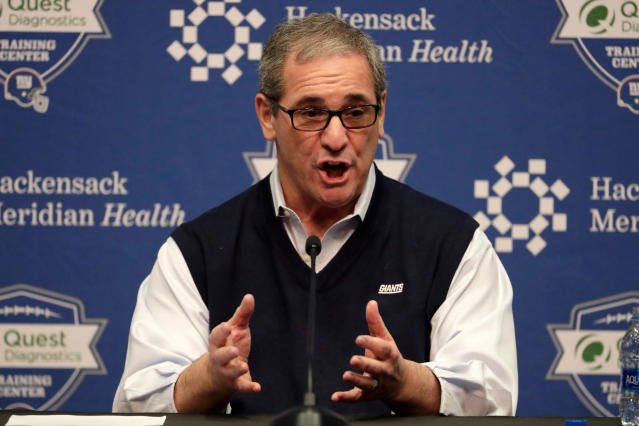 New York Giants general manager Dave Gettleman has started a midseason fire sale. (AP)