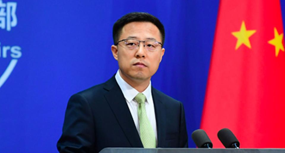 China's Foreign Ministry spokesperson Zhao Lijian issued a stark warning to Australia on Thursday. Source: FMPRC