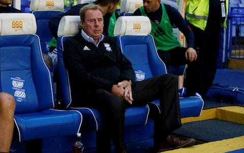 """Harry Redknapp has admitted his career as a football manager could be over, after he was sacked by Birmingham City on Saturday evening. Redknapp guided Birmingham to Championship survival on the final day of last season but has paid the price for six successive defeats. Birmingham's owners Trillion Trophy Asia sacked Redknapp by telephone shortly after the 3-1 defeat to Preston on Saturday, after watching the game on television. And while Redknapp's dismissal has angered some supporters, it is understood that he was close to being dismissed after the 2-1 loss at Burton Albion on August 18. The Birmingham board wanted to sack him then but were persuaded to give him more time, eventually signing 14 players before the transfer window closed, including record £6.5m capture Jota from Brentford on deadline day. Birmingham have suffered six defeats on the spin But results have been disappointing while Redknapp's relationship with director of football Jeff Vetere was also thought to be fractious. There are also believed to have been issues with Redknapp commuting from his Sandbanks home, with Birmingham holding concerns over his commitment. As many of Birmingham's board members are not based in England, much of the work on recruitment has been undertaken by agent Darren Dein, the son of former Arsenal chairman David. Dein will spearhead the search for Redknapp's replacement and Birmingham are pursuing a younger manager to succeed the 70-year-old, with interim manager Lee Carsley in the frame if he can mount a revival. And Redknapp has conceded that his long career as manager, which began at Bournemouth in 1983, could now be over. Redknapp has conceded his managerial career could be over """"I have loved being a manager and loved it at Birmingham but I doubt very much whether it will happen again,"""" he said. """"I'm a realist. If I could help someone somewhere, help a young manager, I'd love that but working again as a No. 1, you're never sure. """"It's a shame I didn't have the chanc"""