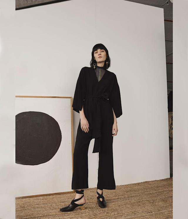 "<p>The Erma Jumpsuit, $690, <a href=""https://shop.ciennenewyork.com/products/the-erma-jumpsuit-black"" rel=""nofollow noopener"" target=""_blank"" data-ylk=""slk:shop.ciennenewyork.com"" class=""link rapid-noclick-resp"">shop.ciennenewyork.com</a> </p>"