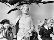 """<p><strong><em>The Birds</em></strong></p><p>From director Alfred Hitchcock — havoc ensues when a swarm of violent birds attack a small California town.</p><p><a class=""""link rapid-noclick-resp"""" href=""""https://www.amazon.com/Birds-Tippi-Hedren/dp/B000I8H7RI/?tag=syn-yahoo-20&ascsubtag=%5Bartid%7C10055.g.29120903%5Bsrc%7Cyahoo-us"""" rel=""""nofollow noopener"""" target=""""_blank"""" data-ylk=""""slk:WATCH NOW"""">WATCH NOW</a></p>"""