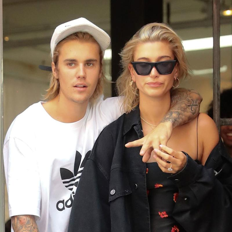 5f75a002f027 Hailey Baldwin Posts Flirty Instagram Comment About Justin Bieber