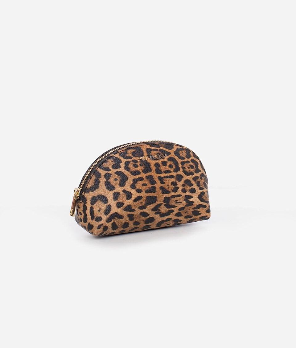 <p>From makeup to purse essentials, this <span>Fawn Design Cosmetic Bag</span> ($30) is the perfect companion - and that pattern!</p>