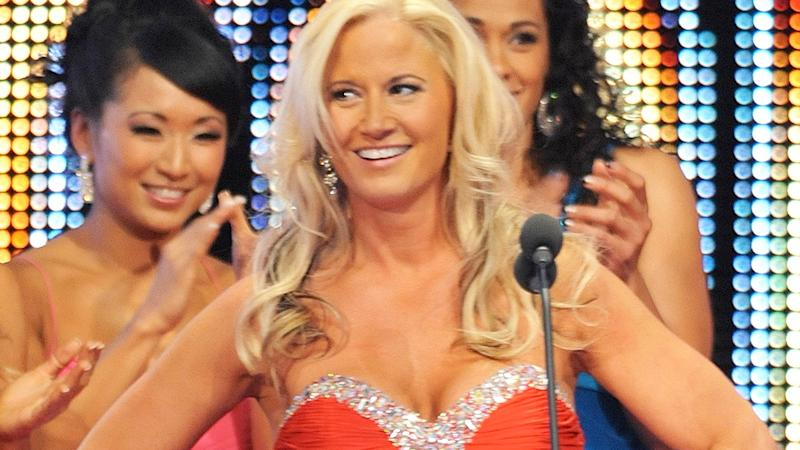 Tammy Lynn Sytch is pictured at the 2011 WWE Hall of Fame induction ceremony.