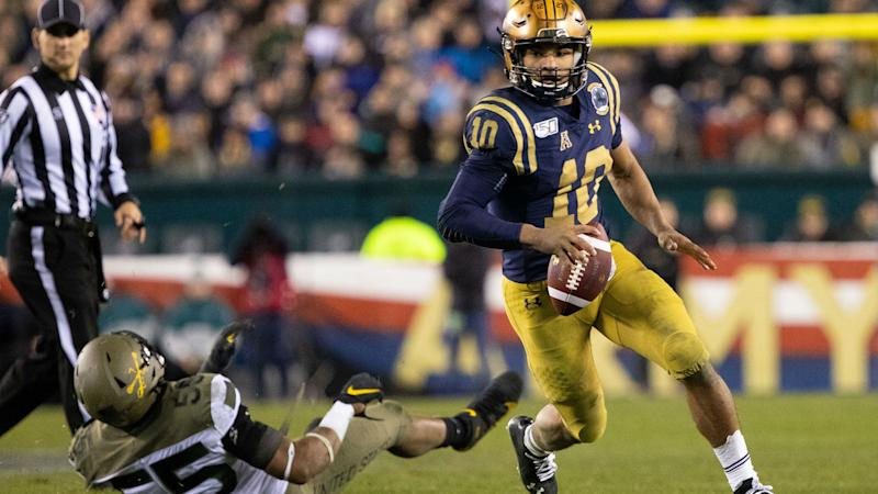 Malcolm Perry breaks Army-Navy rushing record in Midshipmen victory