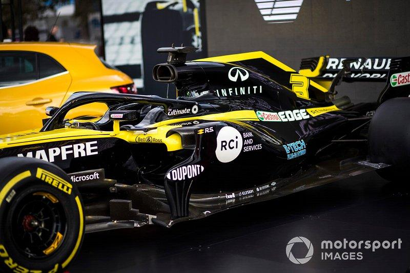 "Detail of the Renault F1 Team R.S.20 <span class=""copyright"">Sam Bloxham / Motorsport Images</span>"