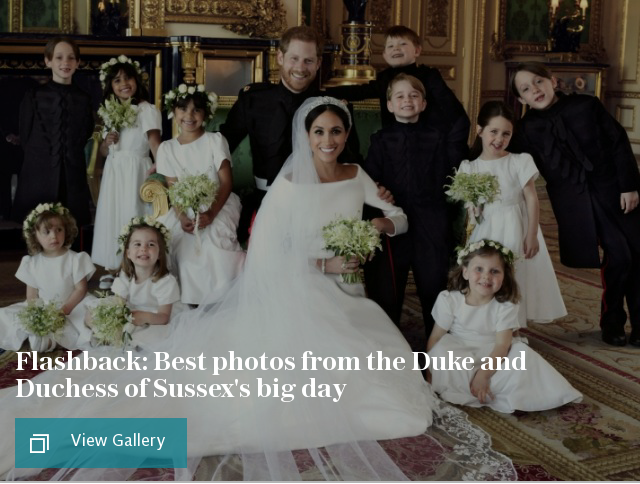 Royal wedding day pictures: Best photos from Prince Harry and Meghan Markle's ceremony and reception