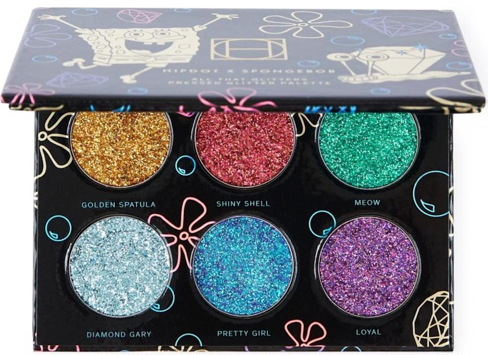 <p>They'll love using this <span>HipDot All That Glitters Palette</span> ($16) for all the creative, sparkle-filled eye looks. It's pigmented and makes a statement.</p>