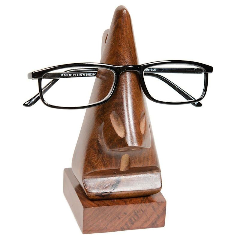 "Neatly holds your glasses so they're always within reach for your next read. <a href=""https://www.amazon.com/dp/B003VF24UK/ref=asc_df_B003VF24UK5234545/?tag=hyprod-20&creative=395033&creativeASIN=B003VF24UK&linkCode=df0&hvadid=191949425984&hvpos=1o2&hvnetw=g&hvrand=13809661907949807018&hvpone=&hvptwo=&hvqmt=&hvdev=c&hvdvcmdl=&hvlocint=&hvlocphy=9004352&hvtargid=pla-301804182610"" target=""_blank"">Get it here</a>."