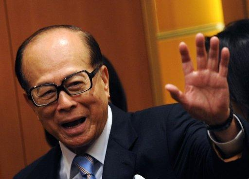 Li Ka-shing is Asia's richest man