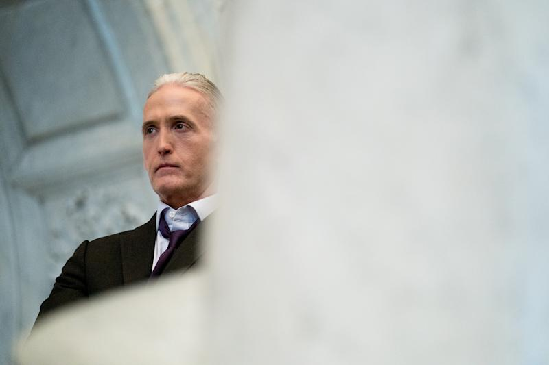 Then Rep. Trey Gowdy (R-S.C.) at the Library of Congress in Washington, Dec. 19, 2018. (Erin Schaff/The New York Times)