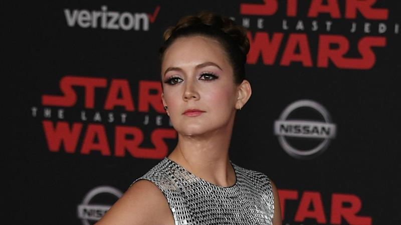 Billie Lourd Stuns at the 'Star Wars: The Last Jedi' Premiere, Plus More Glam Looks: Pics!