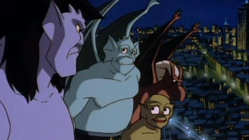 A still from Disney's Gargoyles. (Disney)