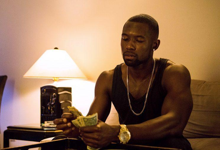 Trevante Rhodes in Moonlight.