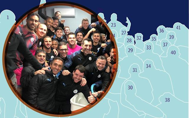 Inside the Manchester City dressing room