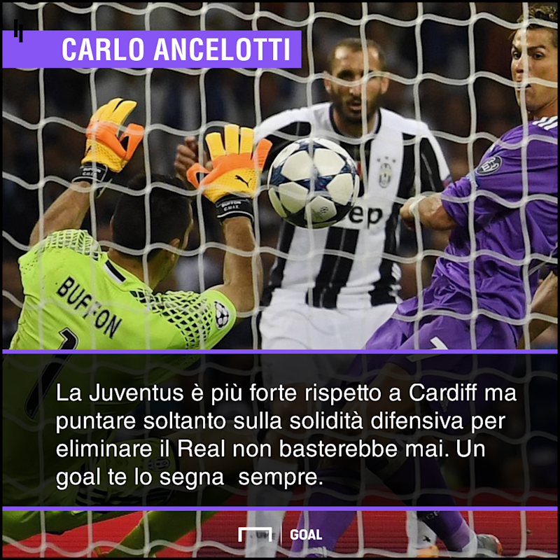 PS Ancelotti Juventus Real Madrid