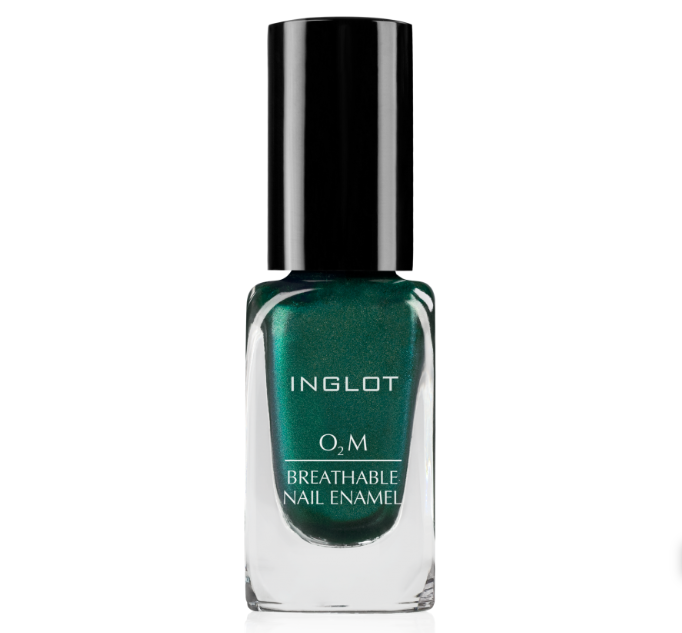 "<p>Inglot's <a rel=""nofollow"" href=""https://inglotcosmetics.com/nails/nail-enamel/item/401-o2m-breathable-nail-enamel"">O2M Breathable Nail Enamels</a> collection is not only formulated with ""breathable"" polimers that allow water to pass through, but it's also available in a plethora of classic and trendy shades that boost a high-shine finish. (Photo: Inglot) </p>"
