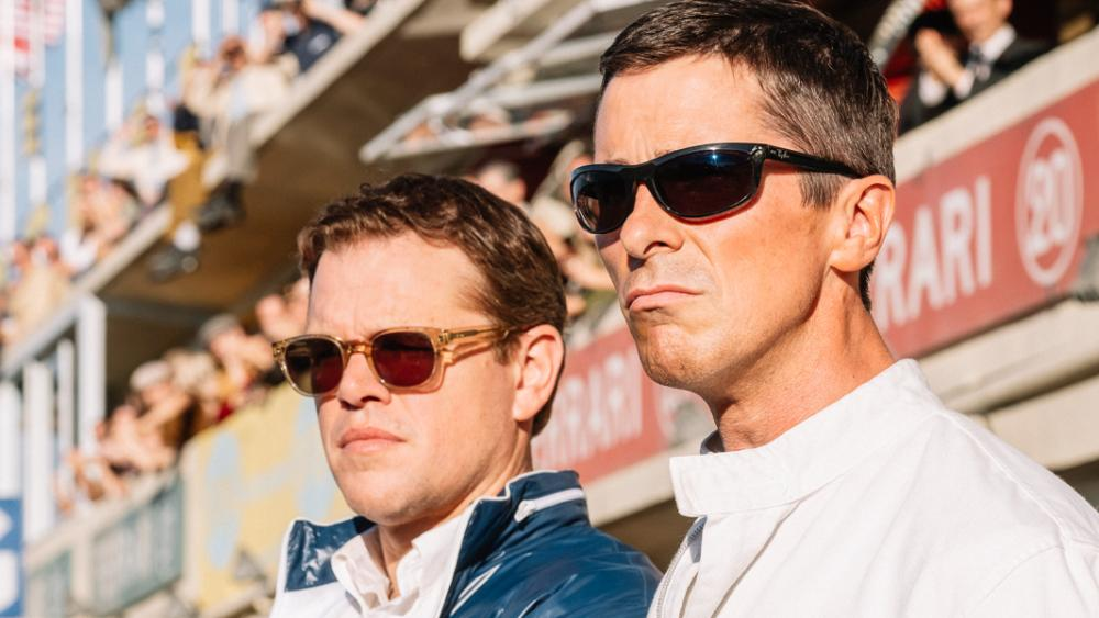 Matt Damon and Christian Bale in 'Ford v Ferrari' (Fox)