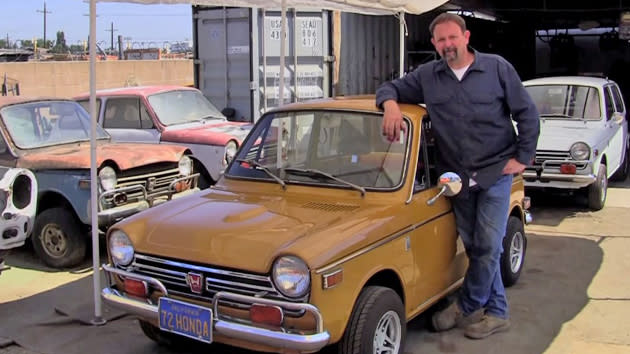 First Honda Ever Sold In The US Saved By Devoted Mechanic