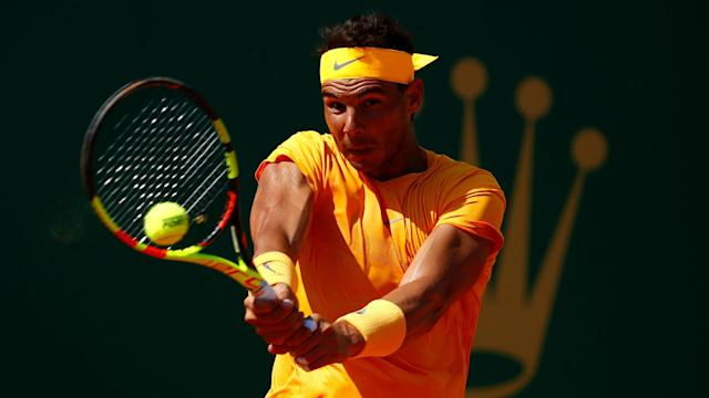 Roberto Carballes Baena put in a brave performance, but Rafael Nadal's love affair with the Barcelona Open continued in round two.