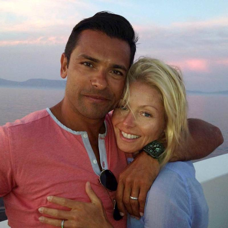 Mark Consuelos and Kelly Ripa | Kelly Ripa/Instagram