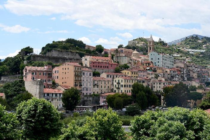 The pretty Italian border town at the gates of the Cote d'Azur has been dubbed the 'Calais of Italy' because of its high number of migrants (AFP Photo/MIGUEL MEDINA)
