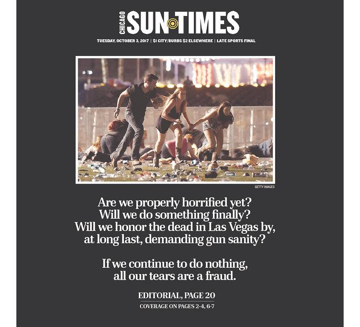 "<p>""Chicago Sun-Times,"" published in Chicago, Ill. (newseum.org) </p>"