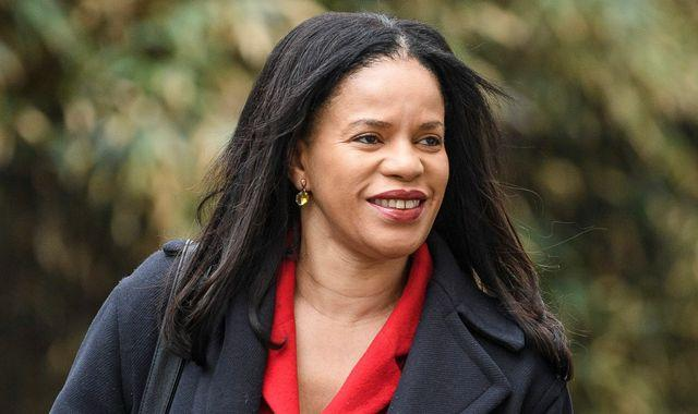 Claudia Webbe: Leicester East MP suspended from party after harassment charge, Sky News understands