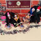 """<p>Send your elf (or elves!) off to Hogwarts by setting up a teeny-tiny platform 9 3/4.</p><p><a href=""""https://www.instagram.com/p/B5rgDjTh1_t/&hidecaption=true"""" rel=""""nofollow noopener"""" target=""""_blank"""" data-ylk=""""slk:See the original post on Instagram"""" class=""""link rapid-noclick-resp"""">See the original post on Instagram</a></p>"""