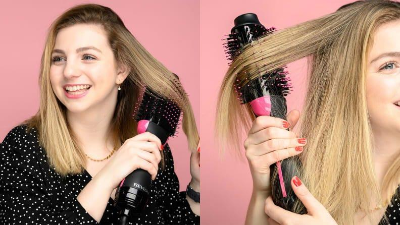 I turn to the Revlon One-Step Hair Dryer and Volumizer every time I want a sleek blowout.