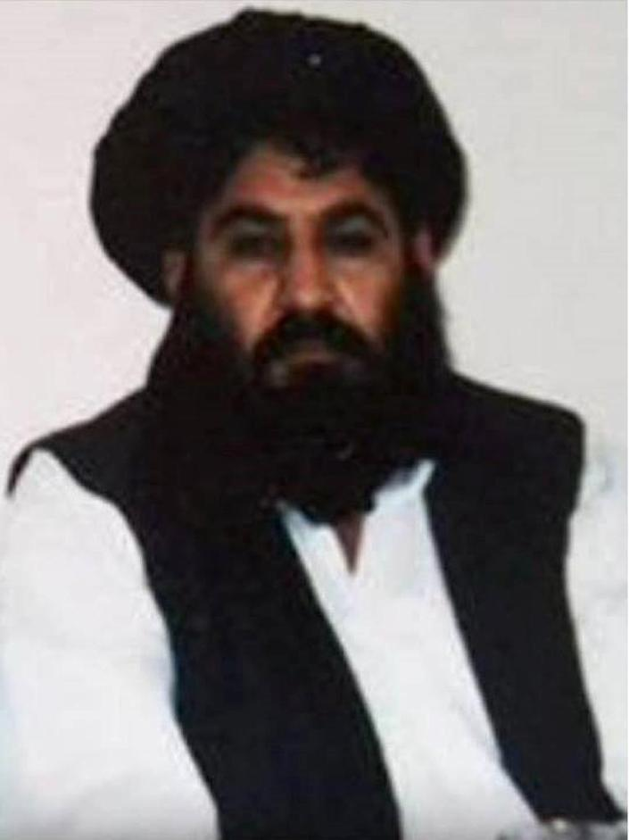 A photo released by the Afghan Taliban in 2015 is said to show Afghan Taliban leader Mullah Akhtar Mansour, who died in a US drone strike this month (AFP Photo/Handout)